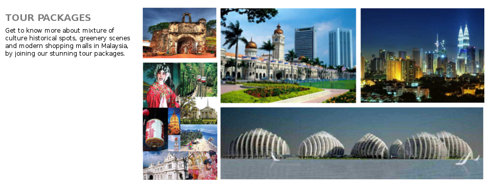 Rental Car Malaysia Tour Package